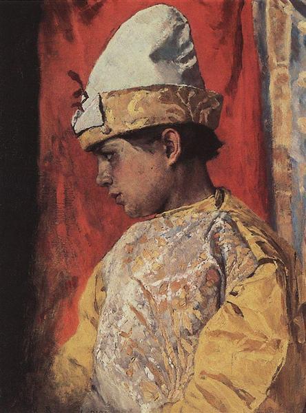 In a suit buffoon, 1882 - Viktor Vasnetsov