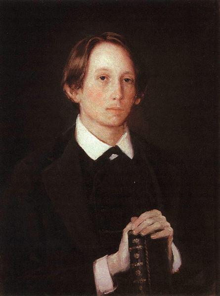 Portrait of the Artist A M Vasnetsov, 1878 - Viktor Vasnetsov