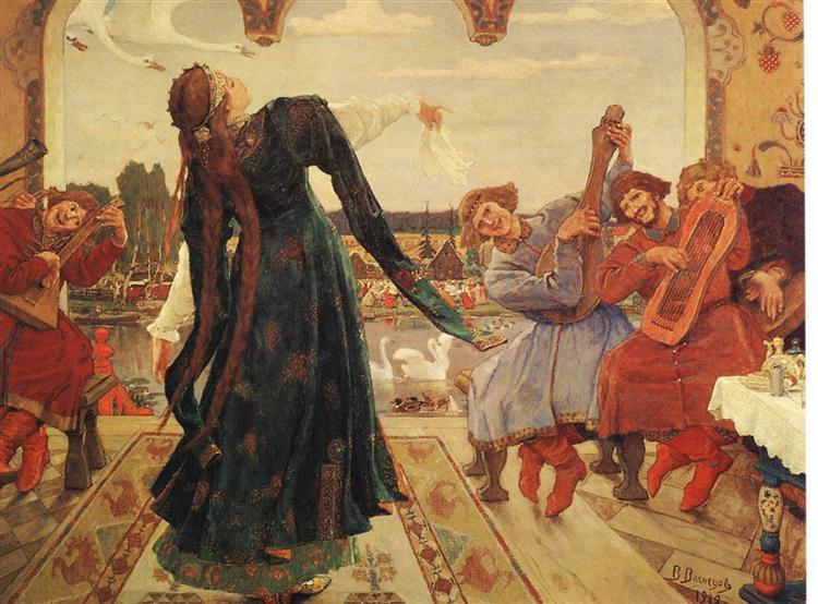 The Frog Tsarevna, 1918 - Viktor Vasnetsov