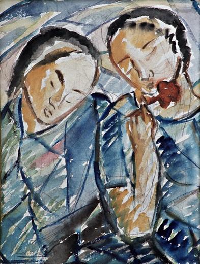 Tytöt ja ruusu, 1924 - Вілхо Лампі
