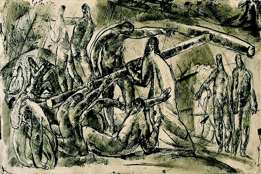 Carrying the Cross, 1921