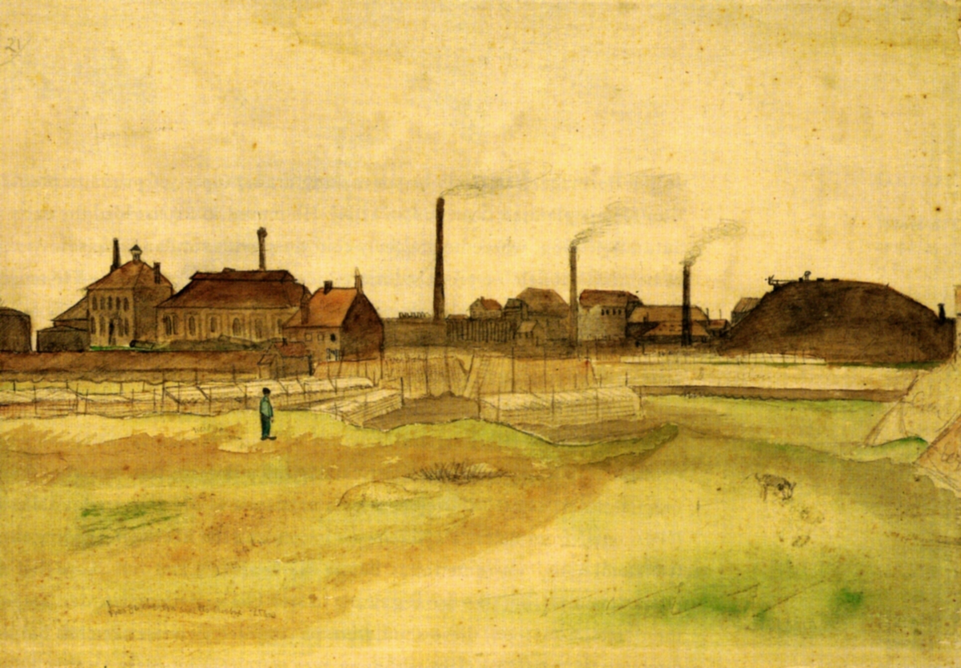 Coalmine in the Borinage, 1879