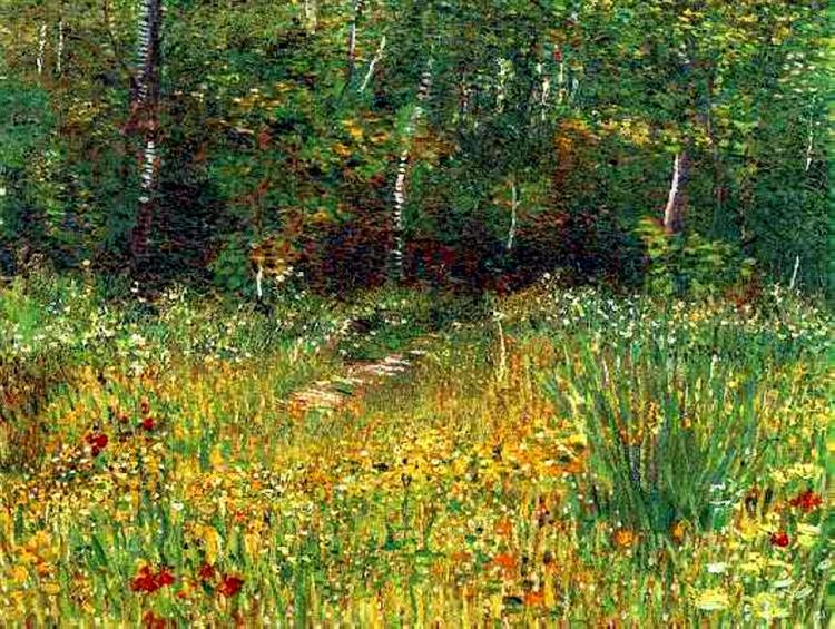 Park at Asnieres in Spring, 1887 - Vincent van Gogh