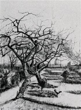 Jardín del Parsonage, Vincent van Gogh