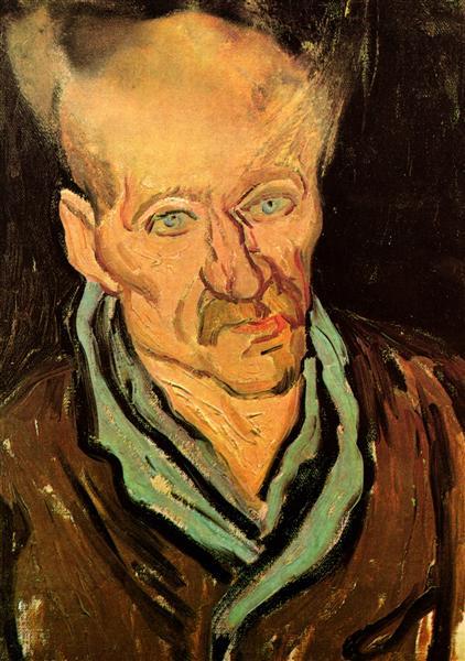 Portrait of a Patient in Saint-Paul Hospital, 1889 - Vincent van Gogh