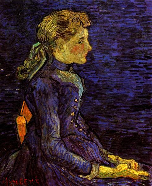 Portrait of Adeline Ravoux, 1890 - Vincent van Gogh