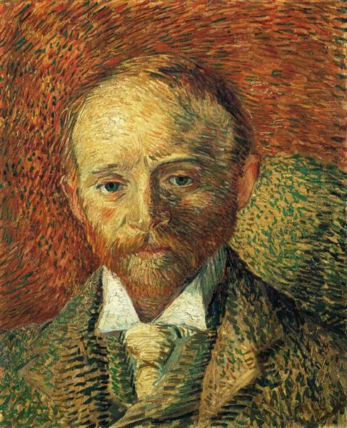 Portrait of Alexander Reid, 1887 - Vincent van Gogh