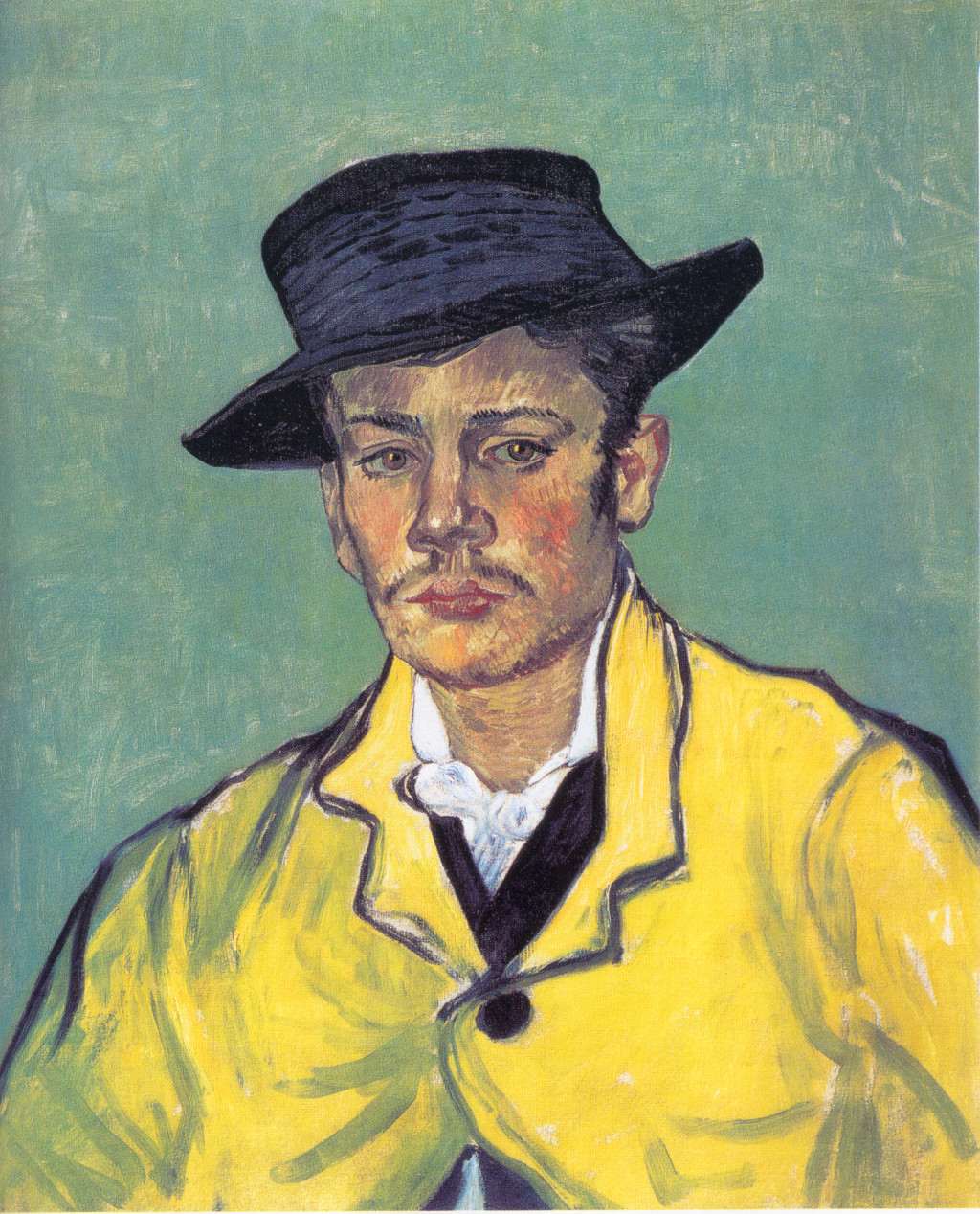 Portrait of Armand Roulin, 1888 - Vincent van Gogh - WikiArt.org