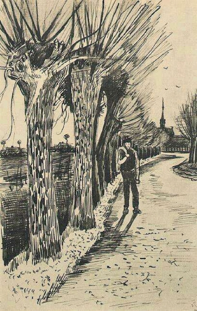 Road with Pollard Willows, 1881