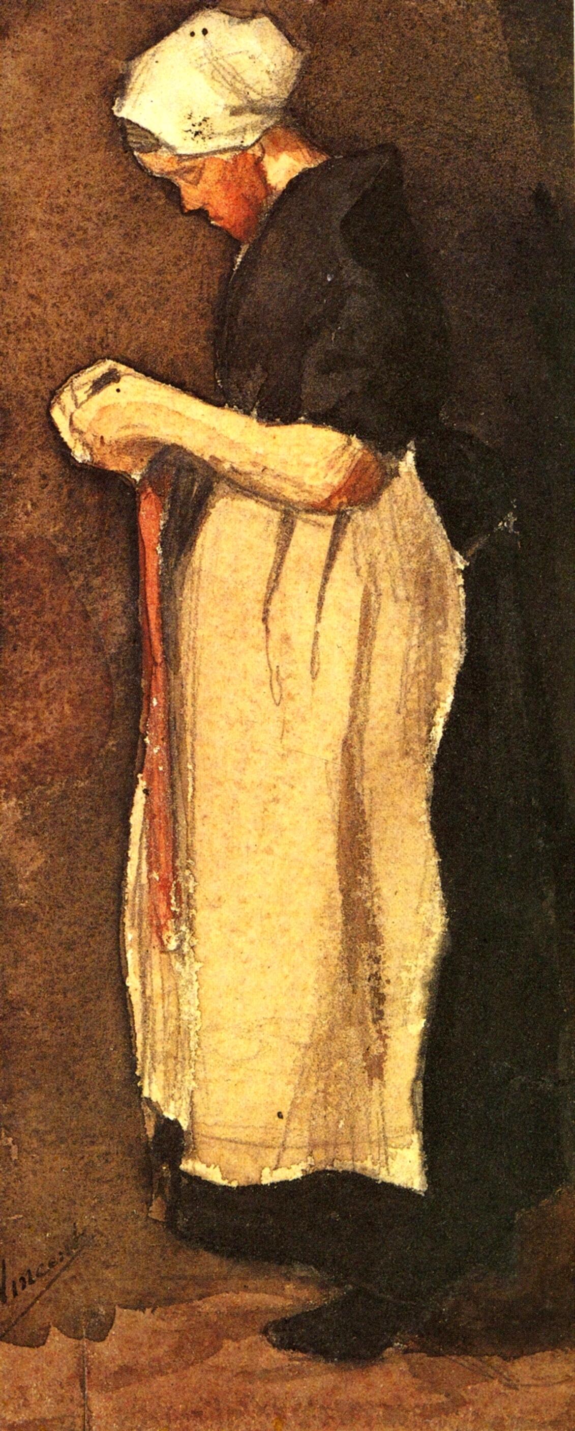 Scheveningen Woman, 1881