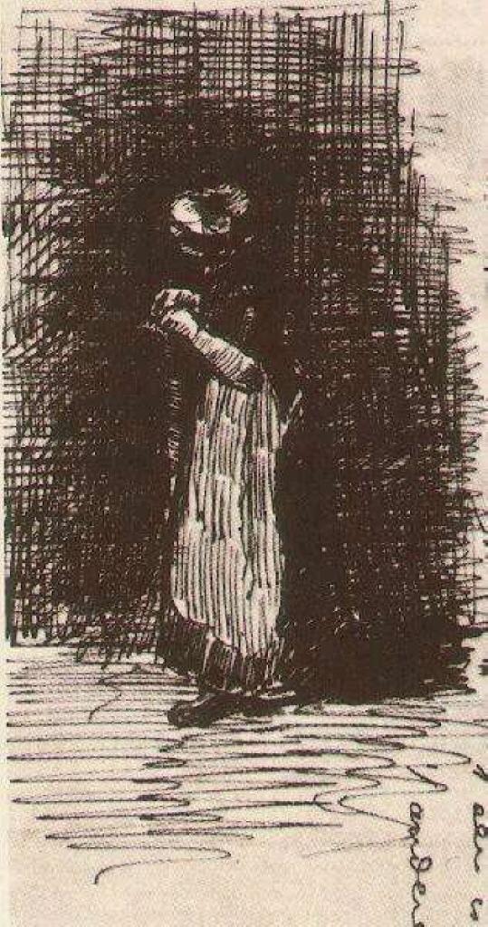 Scheveningen Woman Standing, 1881