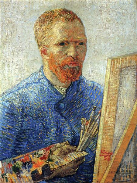 Self Portrait as an Artist, 1888 - Vincent van Gogh