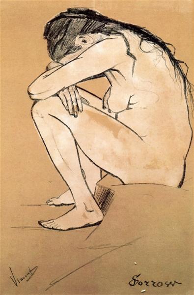 Sorrow - van Gogh Vincent