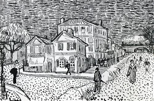 The Artist's House in Arles - Vincent van Gogh