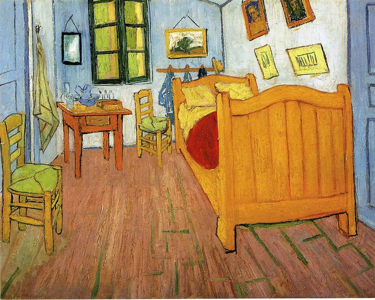 Vincent's Bedroom in Arles, 1888 - Vincent van Gogh