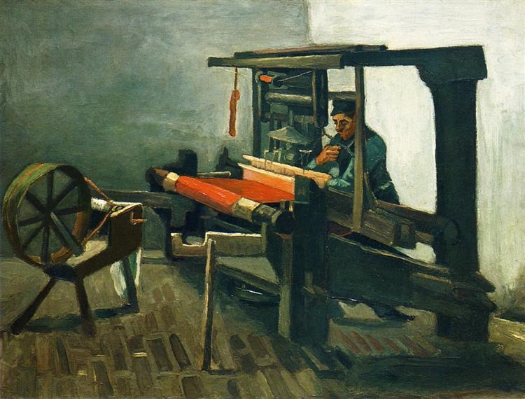 Weaver, 1884 - Vincent van Gogh