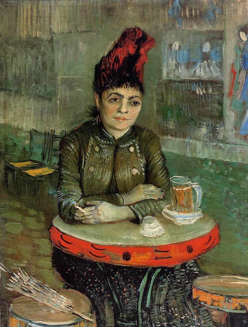 Woman in the 'Cafe Tambourin', 1887 - Vincent van Gogh ...