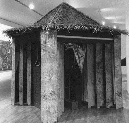 Peeling House, 1981 - Vito Acconci