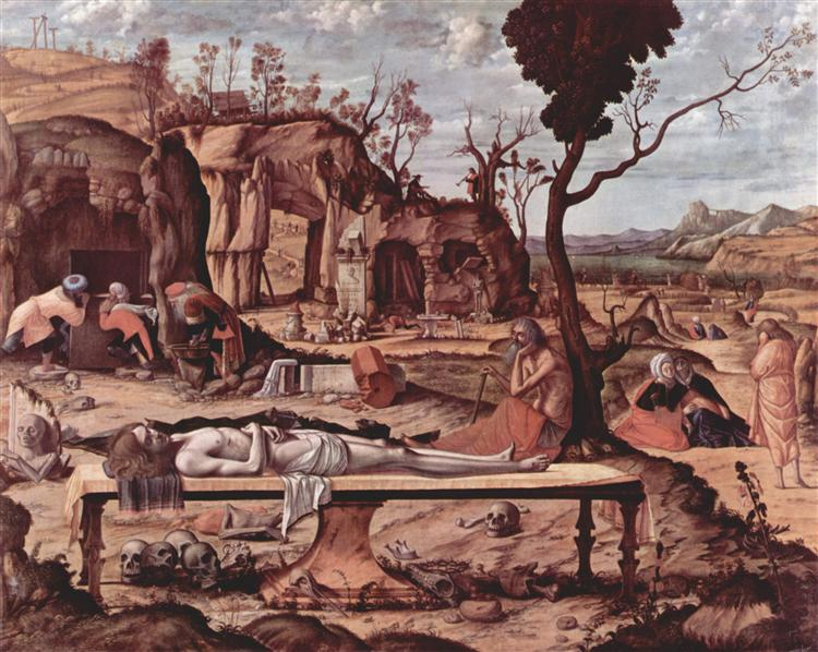 Lamentation of Christ, c.1510 - Vittore Carpaccio