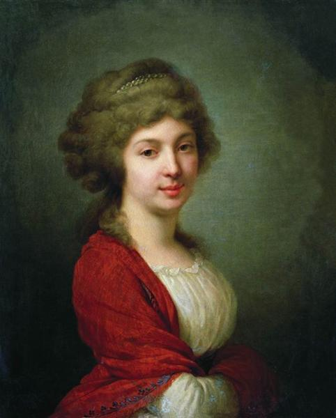 CountessVeraZavadovskaya - Vladimir Borovikovsky