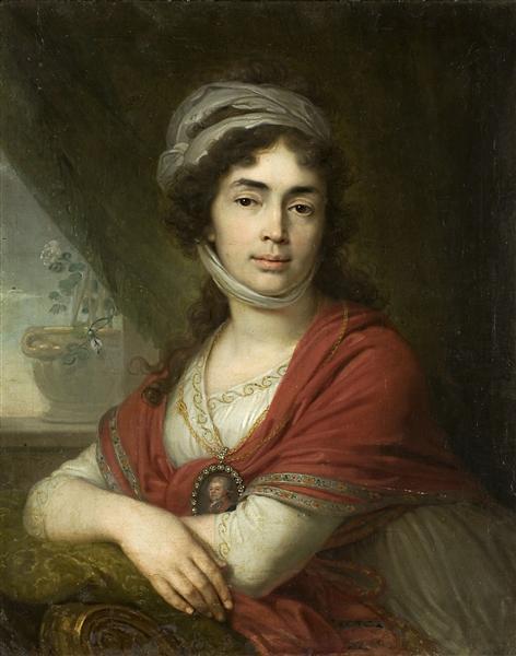 Maria Norova, 1799 - Vladimir Borovikovsky