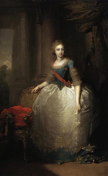 Portrait of ElenaPavlovna - Vladimir Borovikovsky