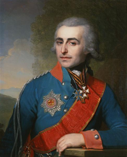 PortraitofGeneraladjutantCountPyotrTolstoy, 1799 - Vladimir Borovikovsky