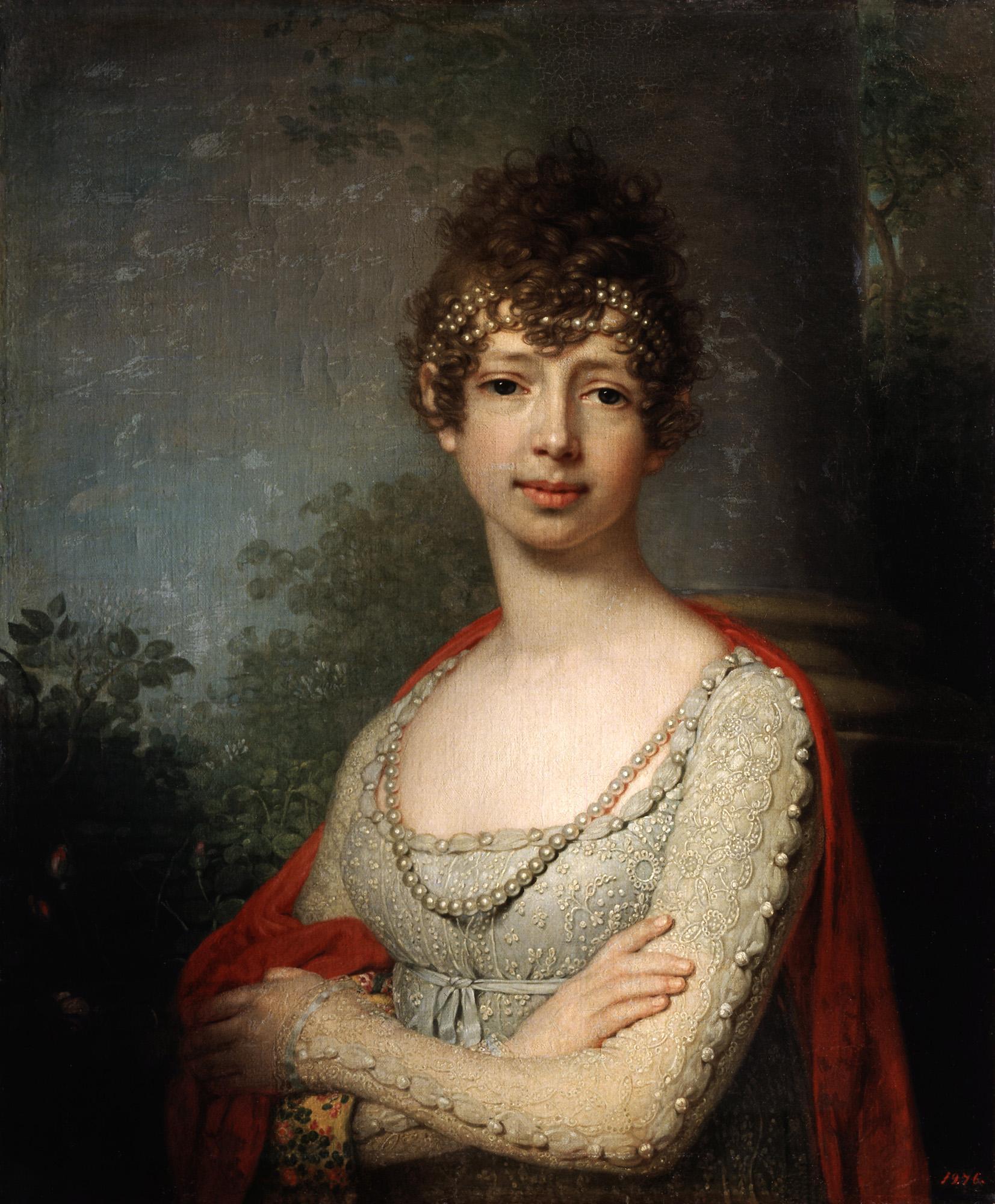 Portrait of grand duchess maria pavlovna