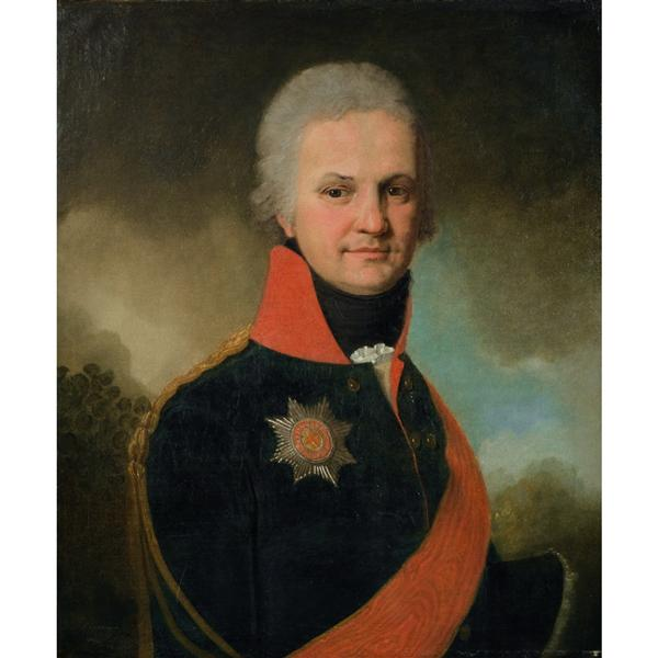 Portrait of Khristofor von Benckendorff, 1796 - 1797 - Vladimir Borovikovsky