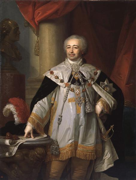 Portrait of Prince A. B. Kurakin, 1799 - Vladímir Borovikovski