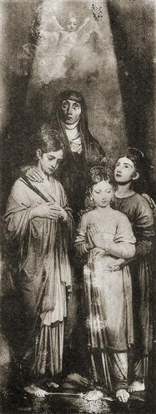 Sofia, Vera, Nadezda i Lubov - Vladimir Borovikovsky