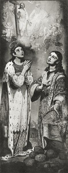 St.Tsaritsa Alexandra, 1814 - 1815 - Vladimir Borovikovsky