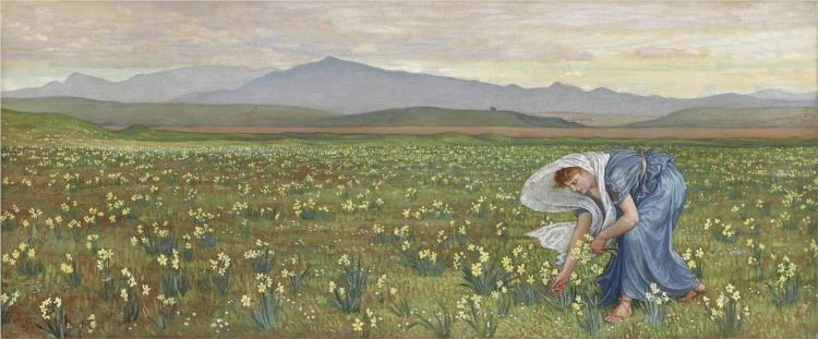 La Primavera, 1883 - Walter Crane