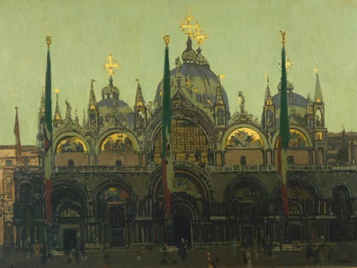 St. Mark's, Venice, 1895-1896