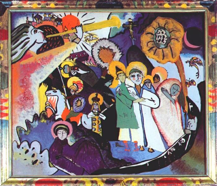 All Saints day I, 1911 - Wassily Kandinsky