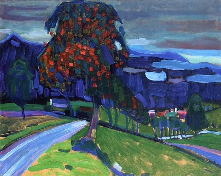 Autumn in Murnau, 1908 - Wassily Kandinsky