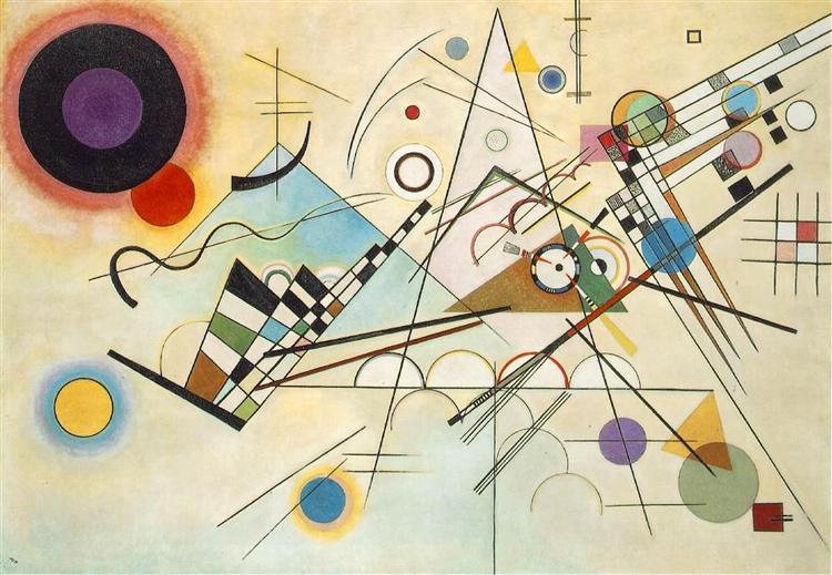 Composition VIII, 1923 -  Wassily Kandinsky