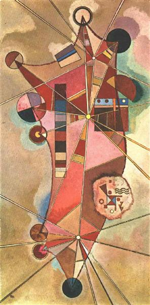 Fixed points, 1942 -  Wassily Kandinsky