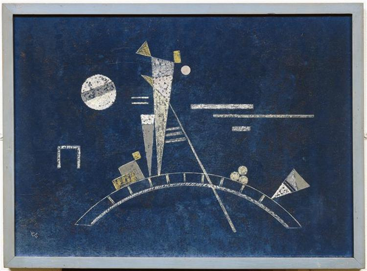 Fragile, 1931 - Wassily Kandinsky