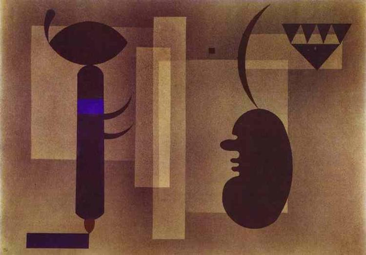 Gloomy Situation, 1933 - Wassily Kandinsky
