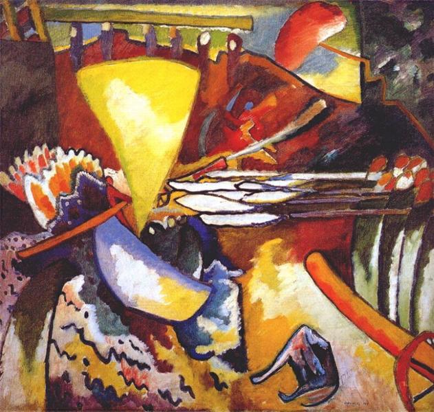 Improvisation 11, 1910 - Wassily Kandinsky