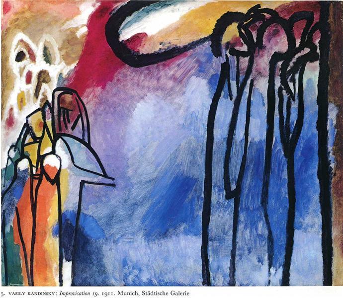 Improvisation 19, 1911 - Wassily Kandinsky