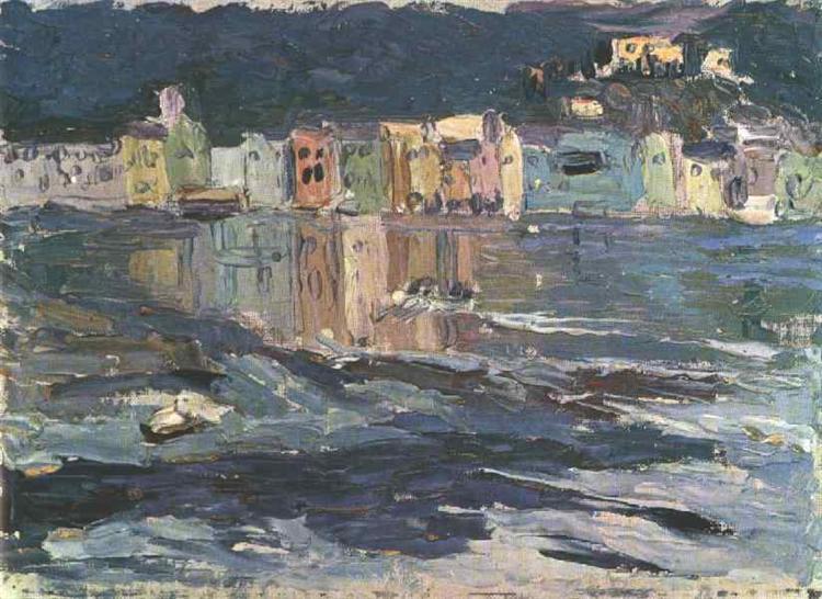 Santa Marguerite, 1906 - Wassily Kandinsky