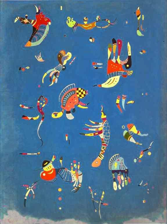 Bleu de ciel, 1940 - Vassily Kandinsky - WikiArt.org