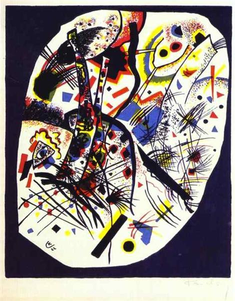 Small worlds III, 1922 - Wassily Kandinsky