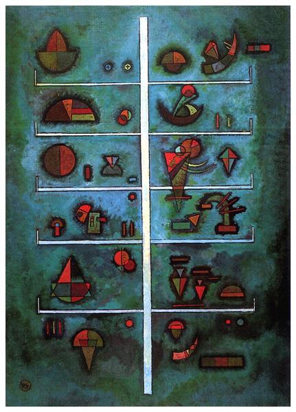 Storeys, 1929 - Wassily Kandinsky