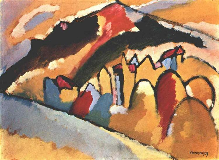 Study for autumn, 1909 - Wassily Kandinsky
