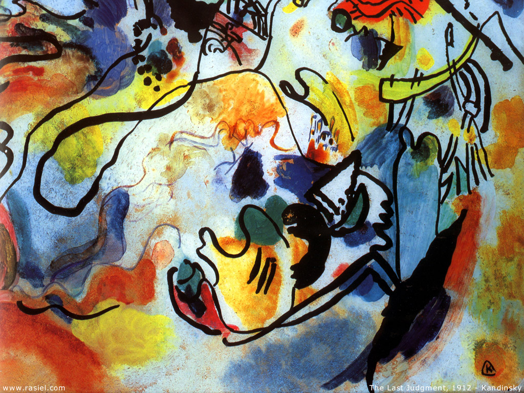 The last judgment, 1912 - Wassily Kandinsky - WikiArt.org