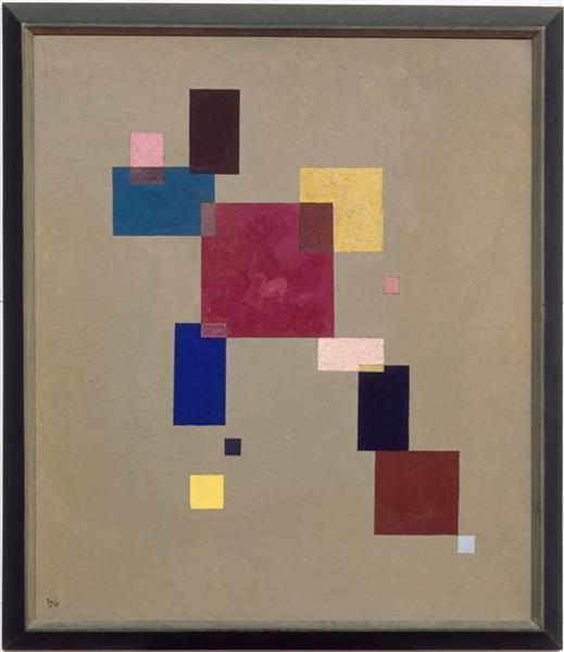 Thirteen rectangles, 1930 - Wassily Kandinsky
