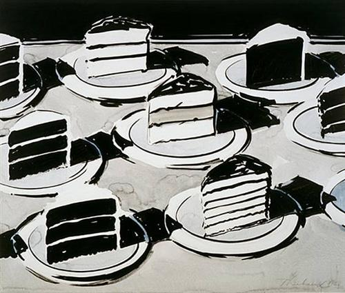 Cake Slices - Wayne Thiebaud